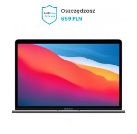 MacBook Air 13'' Apple M1 8C CPU/8C GPU/8GB/512GB - Srebrny + Ochrona iMadCare 12 miesięcy