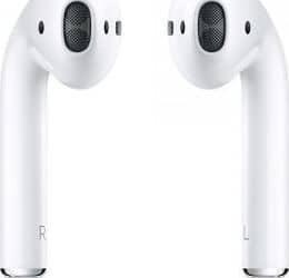 Apple AirPods z etui ładującym