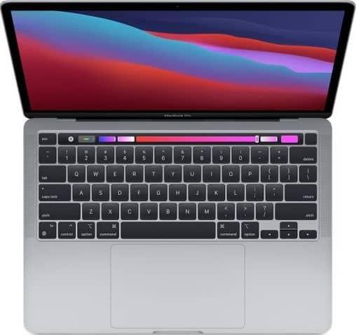 MacBook Pro 13'' Apple M1 8C CPU/8C GPU/16GB/256GB - Srebrny
