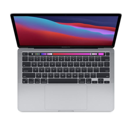 MacBook Pro 13'' Apple M1 8C CPU/8C GPU/8GB/512GB - Gwiezdna Szarość